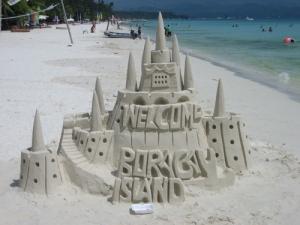 Sandcastle at Boaracay