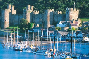 Conwy Castles Historic Sites
