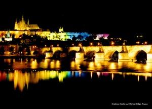 PragueCastleAtNight