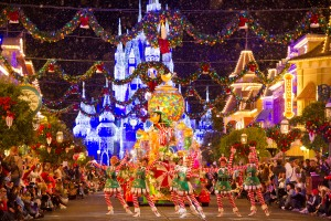 Christmas Parade at Walt Disney World Resort