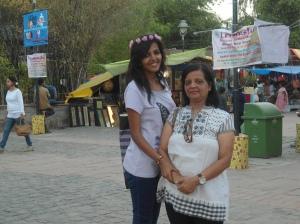 Bienu & Tanya at Delhi Haat