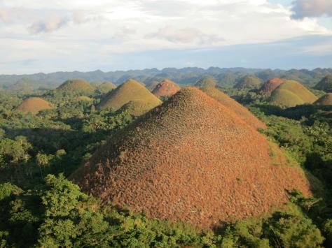 Chocolate HillsBohol Island, Philippines