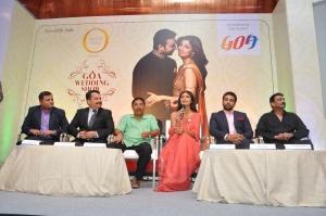 Goa Tourism - At Goa Wedding Show PC - (l-r) Nikhil Desai,Nilesh Cabral,Dilip Parulekar,Shilpa Shetty, Raj Kundra,Wendell Rodricks