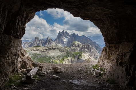 7 panorama_from_man-made_caves_dolomites_italy_shutterstock_111502910