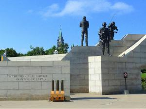 National Peacekeeping Monument, Ottawa, Canada