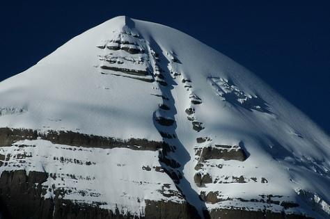 Mt. Kailash seen from Ashtapad - 24
