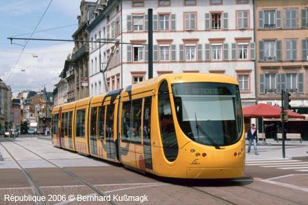 tram europe