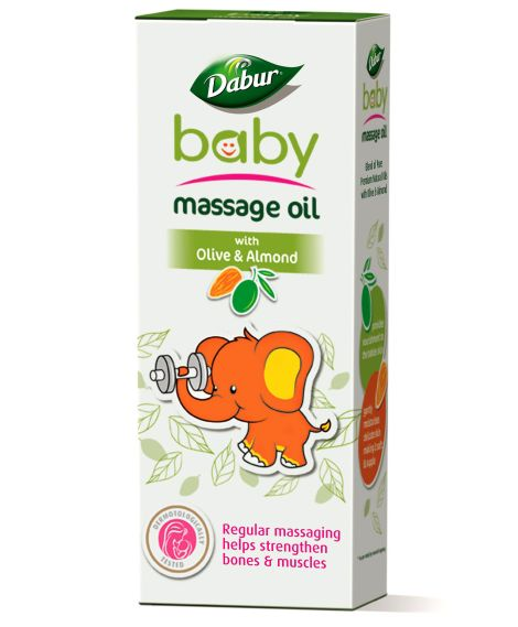 dabur baby massge