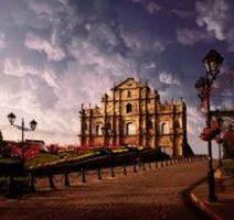 Macau church ruins