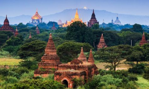 to the old world charm of Myanmar's ancient city, Bagan