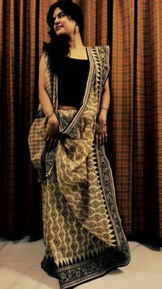 Garima Dutt in Bengali Drape