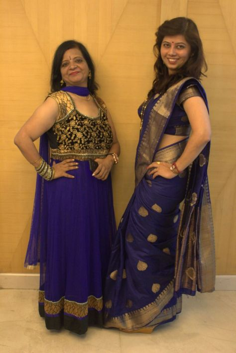 Fun time with pretty colleague Jaya Sawlekar.