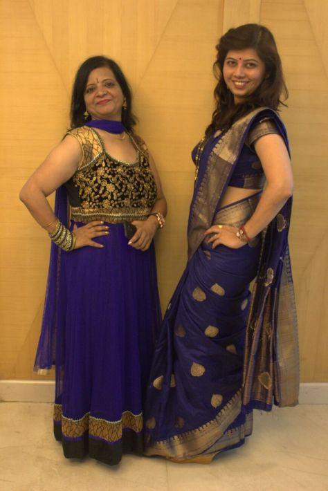 Fun time with pretty colleague Jaya Sawlekar.