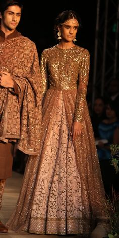 Bridal Anarkali by Sabyasachi Mukherji