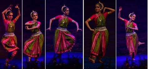 THIRUVANANATHAPURAM, JAN 23 (UNI):- Odissi dancer Arushi Mudgal performing at the ongoing Nishagandhi Dance and Music Festival, in Thiruvananathapuram on Thursday night. UNI PHOTO-4U