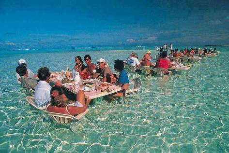 Bora Bora Ocean Restaurant