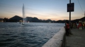 Fateh Sagar Lake after Sunset