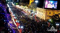 Crowds at Ganjing Carnival