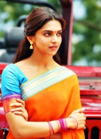 Deepika Padukone in beautiful Lehenga Sarees in Chennai Express