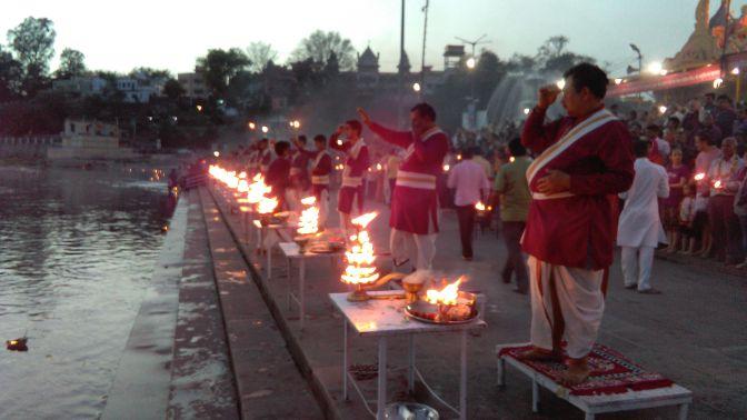 Splendid, Spiritual & Musical Gangaji Maha Aarti, Rishikesh, Uttarakhand