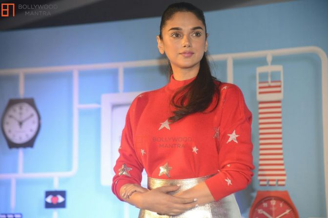 Aditi Rao Hydari unveiled Swatch's new 'Swatch x You' collection