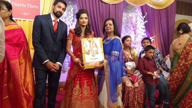 Marriage made in heaven, celebrated in Mumbai!
