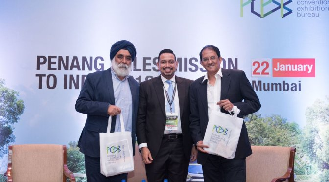 PCEB, Malaysia on a multi-city sales mission to India