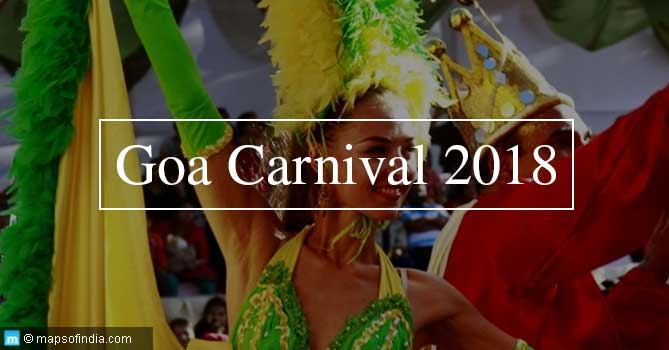 Head to GOA for GOA CARNIVAL 2018