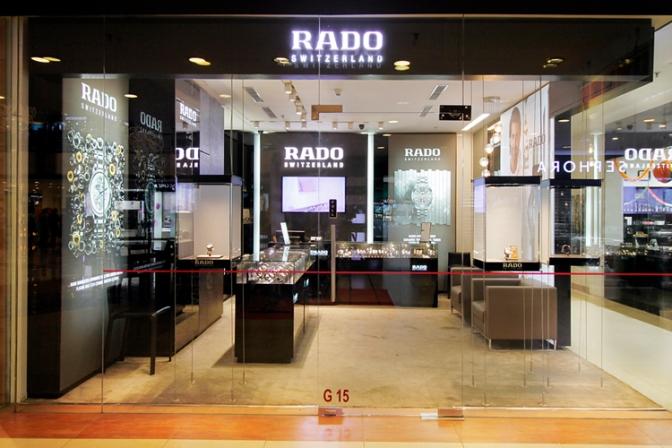 Rado Brand Ambassador Hrithik Roshan opens new store at Delhi Airport