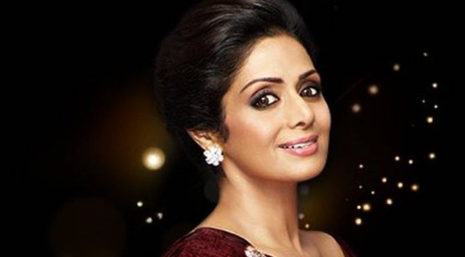 The STAR moves amidst STARS! #RIPSRIDEVI