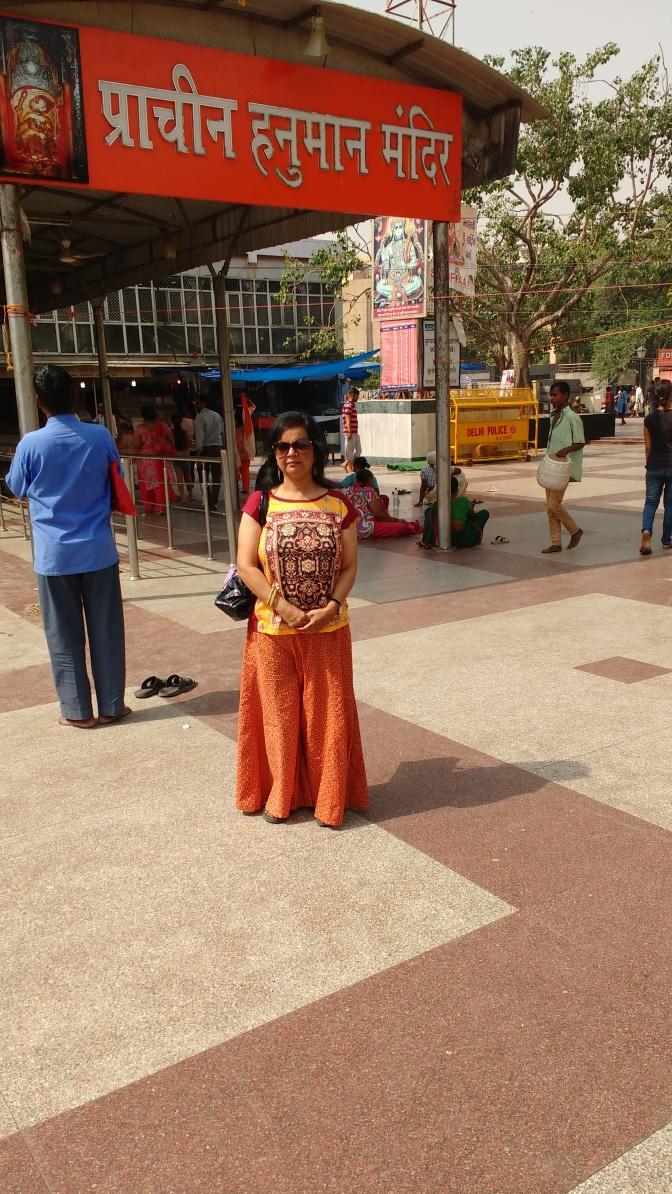 Pracheen Hanuman Temple in Nayi Dilli!