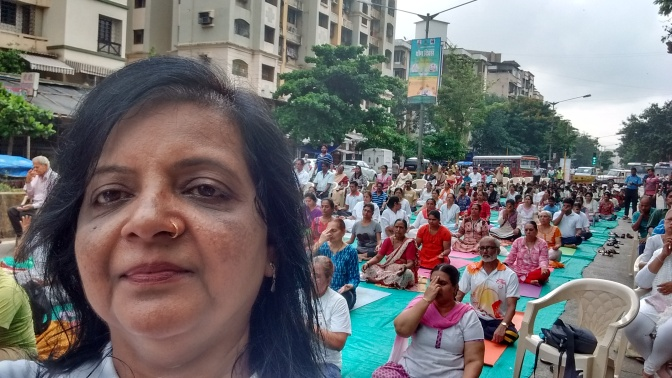 Yoga for your Health & Plants for our Mumbai's Health
