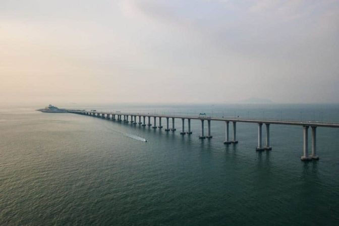 World's Longest Sea – Crossing Bridge Inaugurated